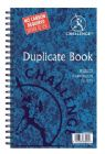 Challenge Duplicate Book Carbonless Ruled 210x130mm Ref 100080469 [Pack 5]
